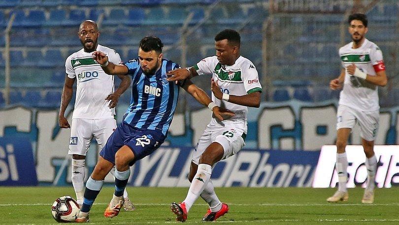 Adana Demirspor: 4 - Bursaspor: 1   MAÇ SONUCU