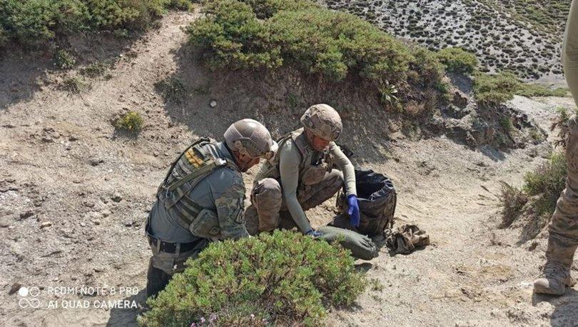 Siirt'te PKK'lı teröristlere ait silah ve mühimmat bulundu