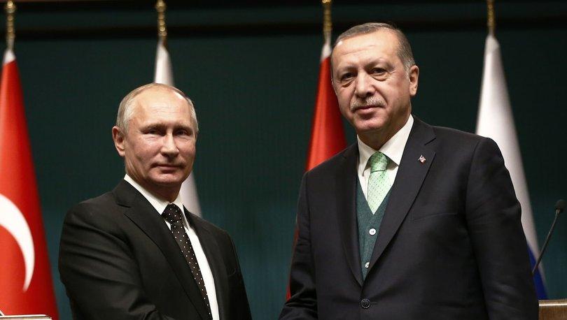 Cumhurbaşkanı Erdoğan, Vladimir Putin ile görüştü!