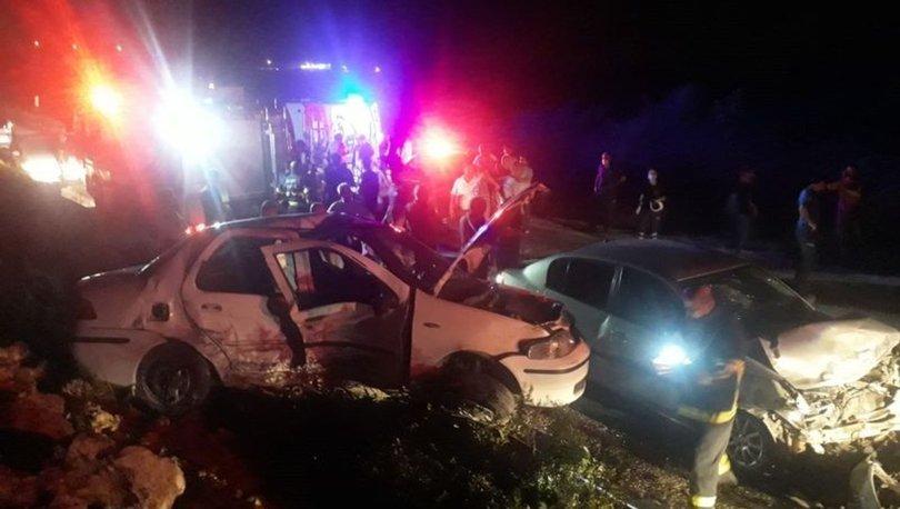 Hatay'da trafik kazası! 2'si ağır 7 yaralı