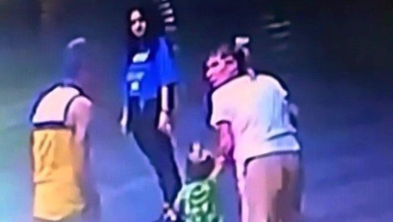 Son dakika haberler... İki buçuk yaşındaki çocuğu kaçırma girişimi kamerada!