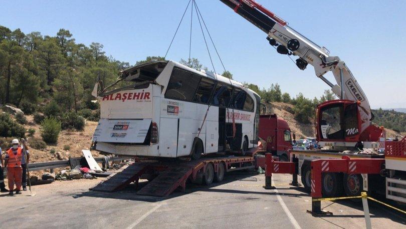 Otobüs kazasında ölen sürücülerin cenazeleri memleketlerine gönderildi