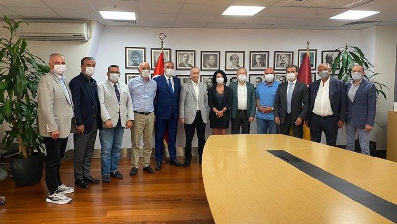 Galatasaray'da haftalık yönetim kurulu toplantısı yapıldı