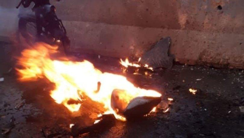 Resulayn'da bomba yüklü motosiklet patladı: 1 sivil hayatını kaybetti