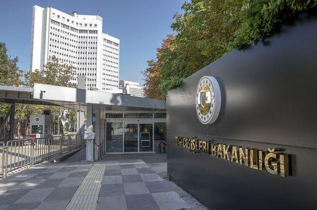 Dışişleri Bakanlığı: BM kural ve ilkelerine aykırıdır
