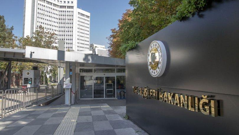 Dışişleri Bakanlığından Kıbrıs Türklerinin rızasının alınmamasına ilişkin açıklama: BM ilkelerine aykırıdır