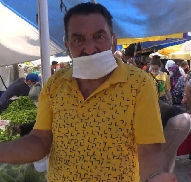 Yeşilçam oyuncusu Hikmet Taşdemir pazarda görüntülendi - Magazin haberleri