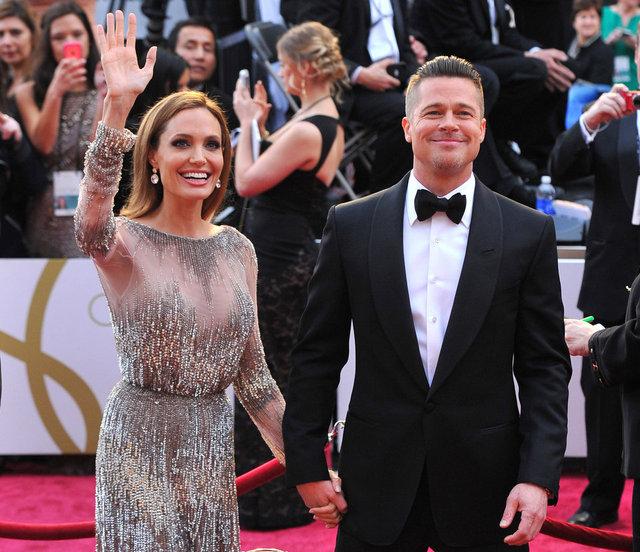 Brad Pitt yine Angelina Jolie'nin evinde - Magazin haberleri