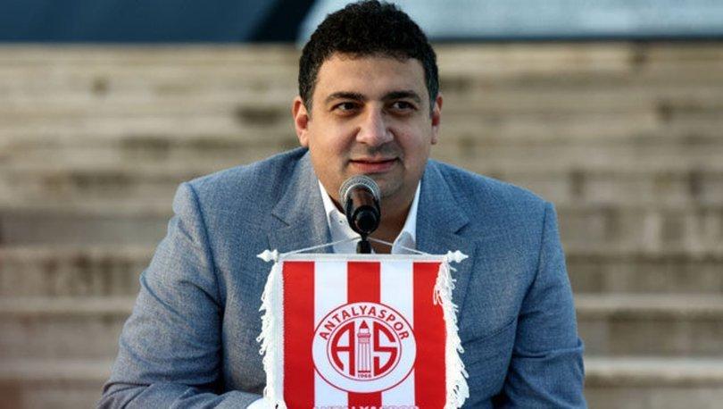 Antalyaspor Başkanı Öztürk: Her yıl Avrupa'ya oynayan takım yaratmak istiyorum