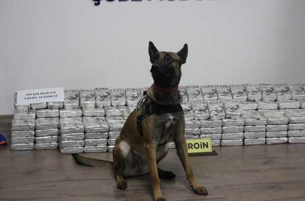 Malatya'da 195 kilogram uyuşturucu ele geçti