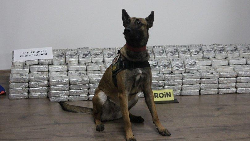 Malatya'da polis, 195 kilogram uyuşturucu ele geçirdi
