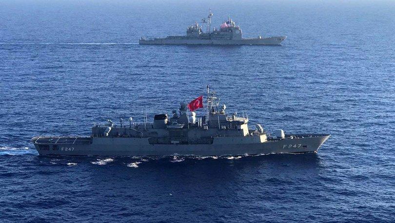 Son dakika haberler... Türkiye ve ABD arasında ortak tatbikat
