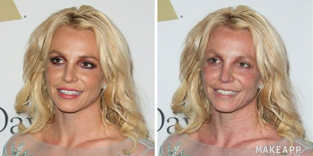 Makyajları silinen ünlüler nasıl gözükür?