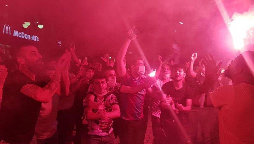 Trabzon'da kupa coşkusu