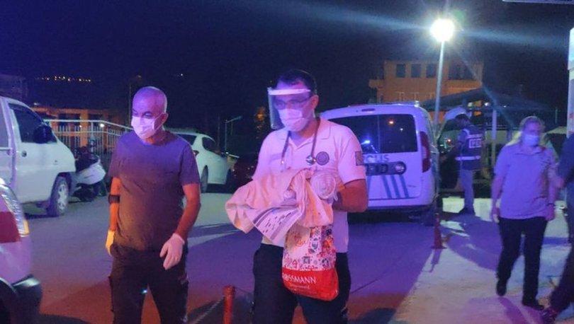 Bursa'da kamyonet kasasında üç günlük bebek bulundu