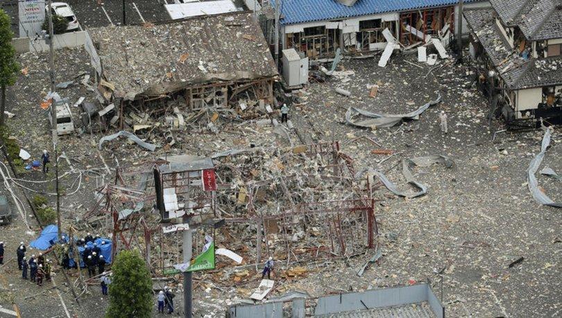 Japonya'da restoranda gaz sıkışması sonucu patlama: 1 ölü, 17 yaralı