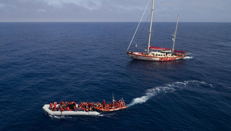 Malta'da akıntıdan kurtarılan 65 göçmenin koronavirüs testi pozitif çıktı