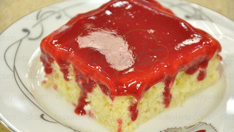 Bademli frambuazlı kek tarifi, nasıl yapılır?