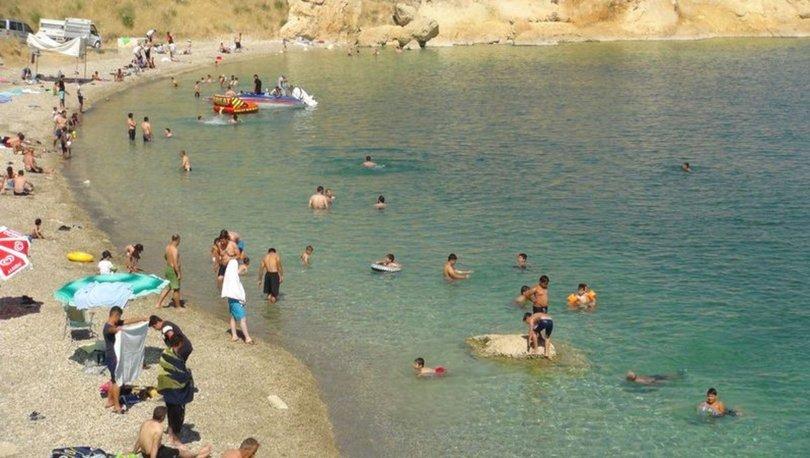 Akdeniz ve Ege'yi aratmıyor... Plajlar doldu taştı