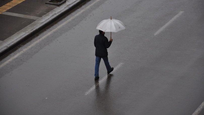 Samsun, Trabzon, Rize ve Artvin çevreleri ile Giresun ve Ordu'ya  yağış geliyor