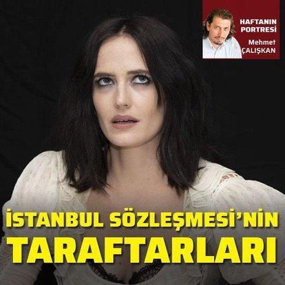İstanbul Sözleşmesi'nin taraftarları