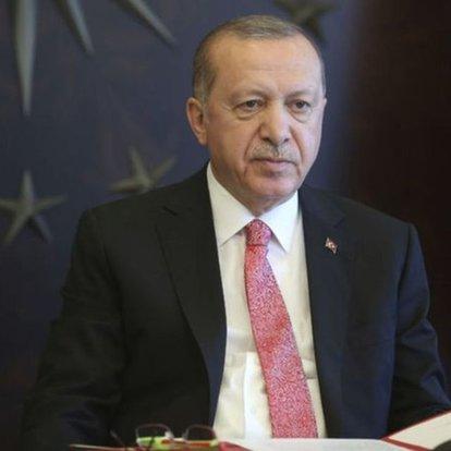 Son dakika haberleri! Cumhurbaşkanı Erdoğan, liderlerle bayramlaştı!