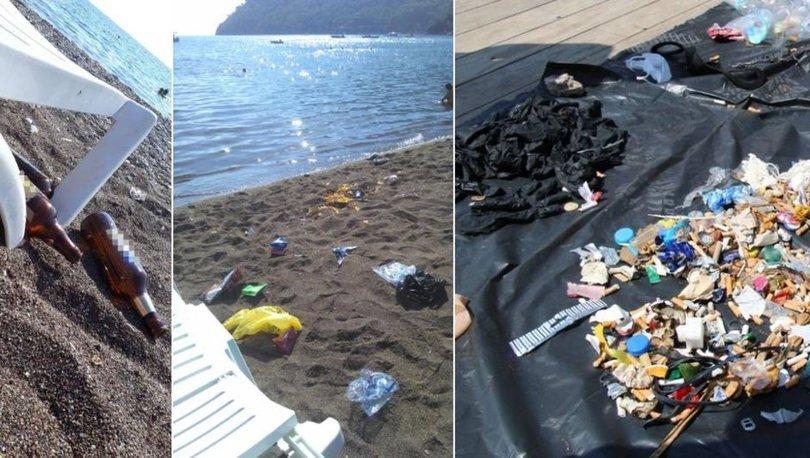 Son dakika haberi... Bu görüntü hiç yakışmadı! Sahiller ve piknik alanları çöplüğe döndü