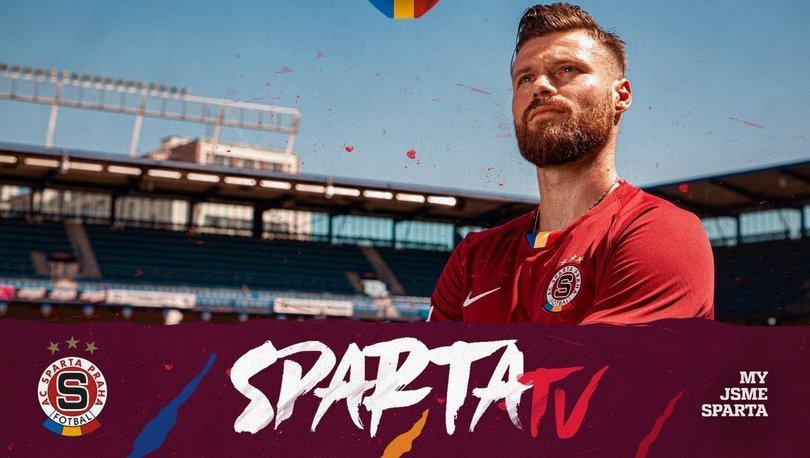 Fraport TAV Antalyaspor'dan ayrılan Celustka, Sparta Prag'a transfer oldu