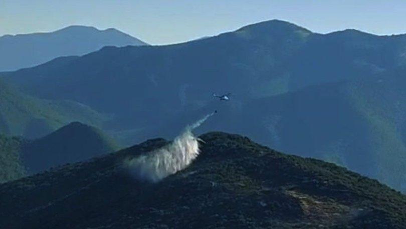 İslahiye'de 2 dönüm ormanlık alan yandı