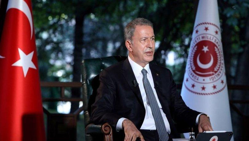 Milli Savunma Bakanı Hulusi Akar yabancı basına önemli mesajlar verdi