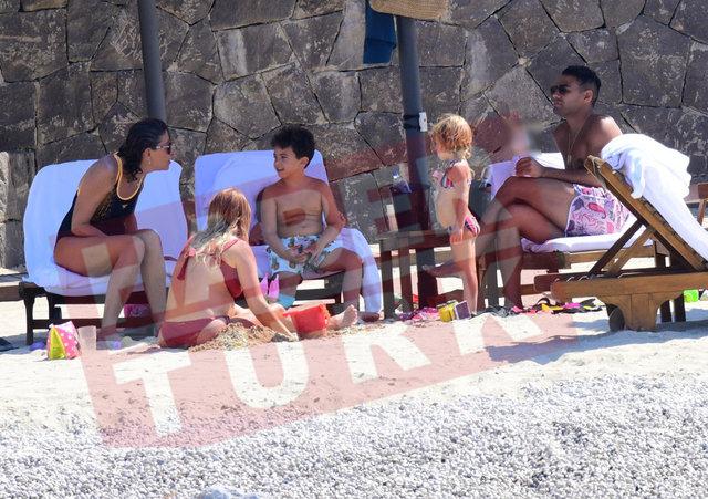 Falcao ailesiyle tatilde - Magazin haberleri