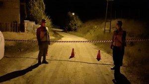 Sivas'ta bir köyde karantina
