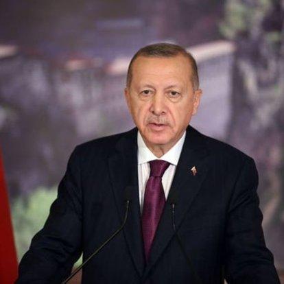 Son dakika haberleri! Cumhurbaşkanı Erdoğan liderlerle bayramlaştı!
