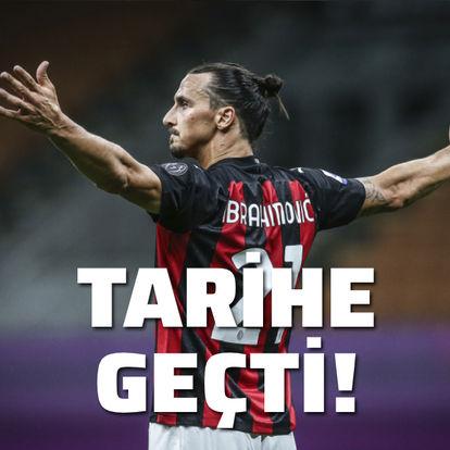 Zlatan tarihe geçti!