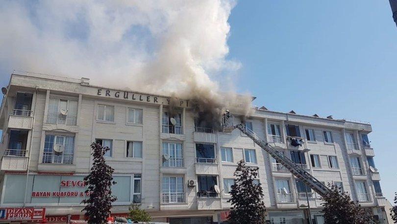İstanbul Esenyurt'ta yangın