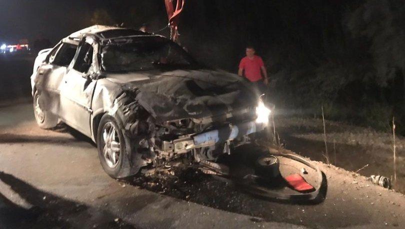Afyonkarahisar'da feci kaza: 2 ölü, 4 yaralı!