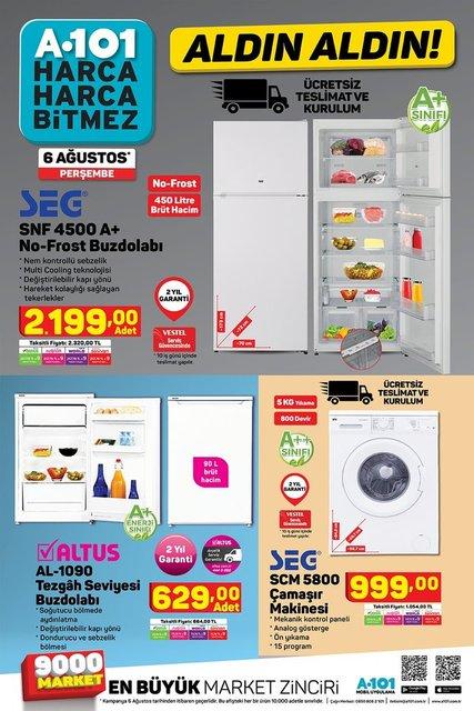 A101 6 Ağustos 2020 kataloğu! Bu haftaki A101 aktüel ürünler kataloğunda neler var?