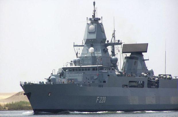 Almanya, Libya açıklarına firkateyn gönderdi!