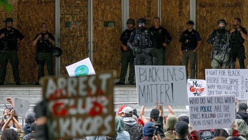 Portland'daki ırkçılık karşıtı gösteriler yasa dışı ilan edildi!