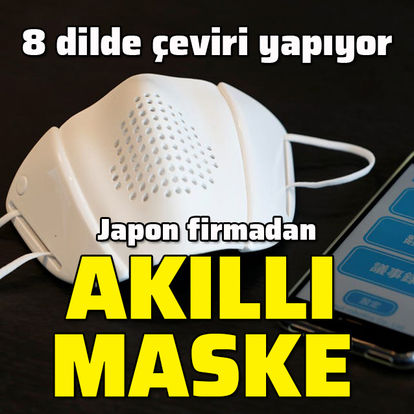 Japonlar akıllı maske geliştirdi