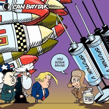 Can Baytak karikatürleri (Ağustos 2020)