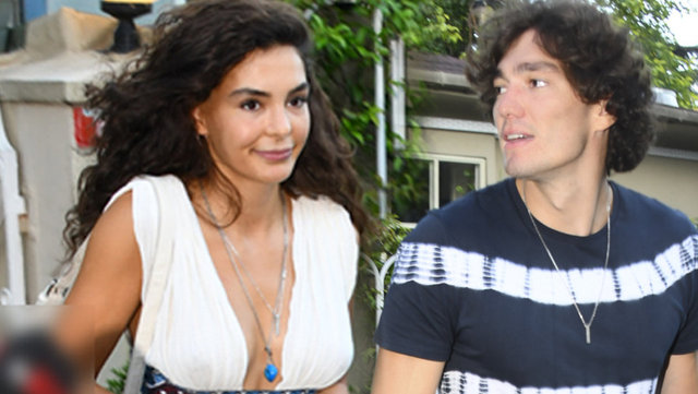 Ebru Şahin ile sevgilisi Cedi Osman İstanbul'da - Magazin haberleri