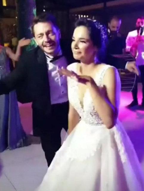 Serkan Şenalp ile Esengül Yılmaz düğün yaptı - Magazin haberleri