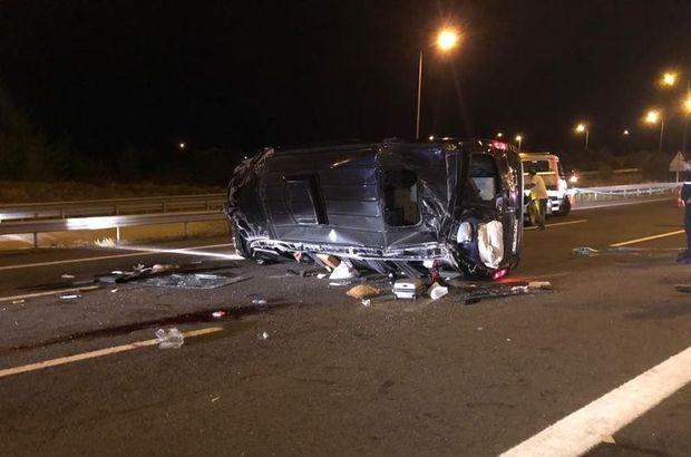 Düğün yolunda feci kaza: 12 yaralı