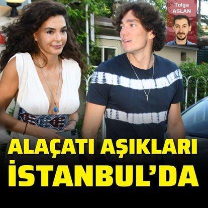 Alaçatı aşıkları İstanbul'da