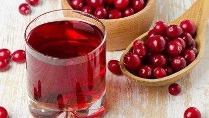 Kızılcık suyunun sağlığa yararları