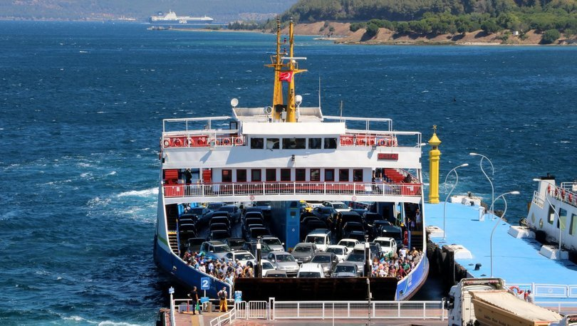 Son dakika haberler... Salgına rağmen feribotla taşınan tatilci sayısı arttı!