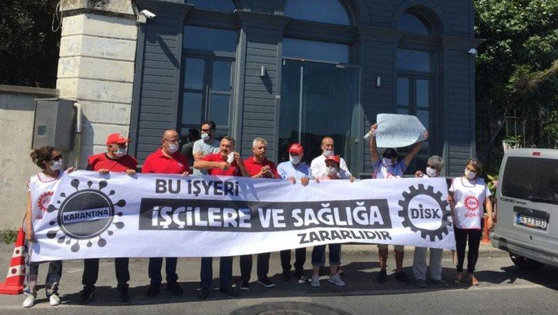 DİSK Dardanel eylemi