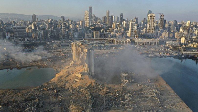 Patlamanın ardından Lübnan'dan korkutan açıklama: 1 aydan az tahıl rezervi kaldı!