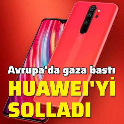 Huawei'yi solladı